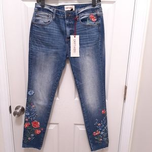 DRIFTWOOD Jackie Summer Bloom Embroidered Jeans